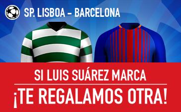 Sporting Lisboa v Barcelona Sportium