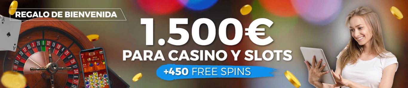 Bono Bienvenida casino PASTON