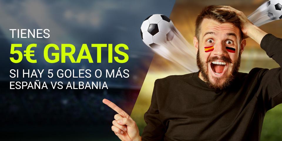 España v Albania Luckia
