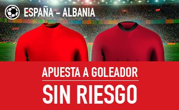 España v Albania goleador