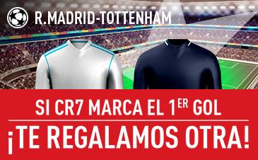 Real Madrid v Tottenham Sportium