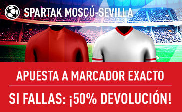 Spartak Moscu v Sevilla Sportium