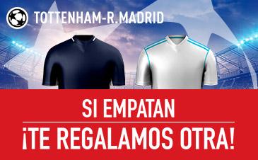 Tottenham v Real Madrid Sportium