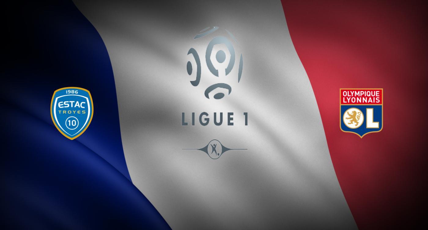 Troyes v Olympique Lyon
