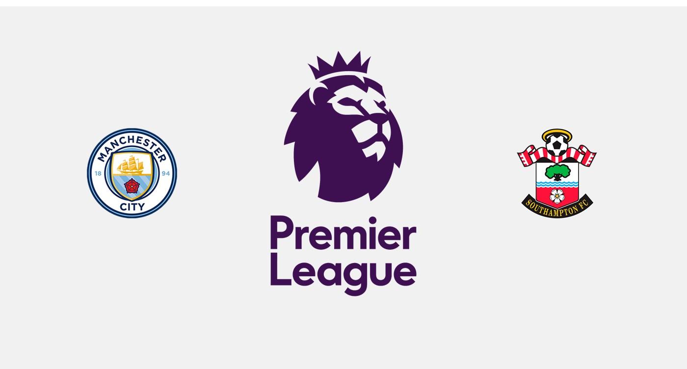 Manchester City v Southampton Premier League