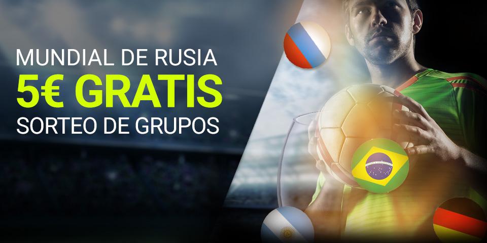 Mundial de Rusia Sorteo de Grupos