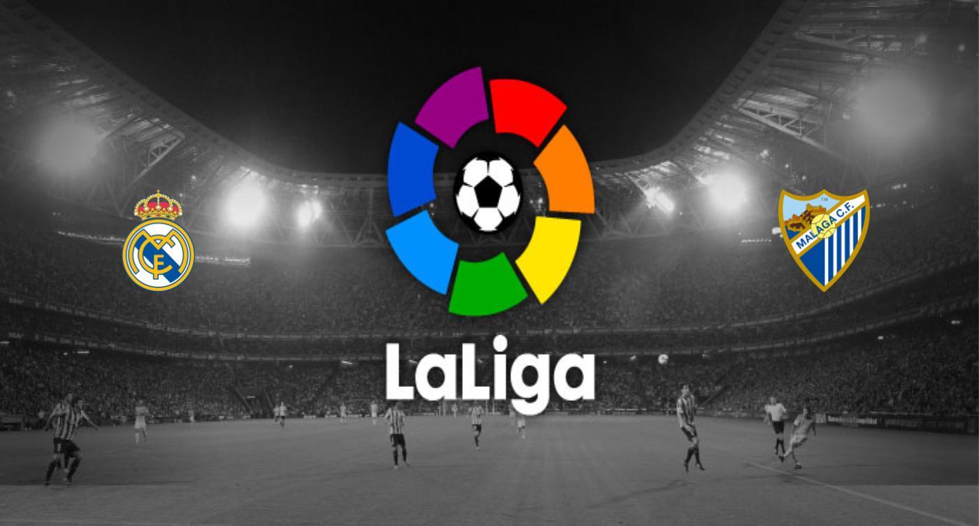Real Madrid v Málaga