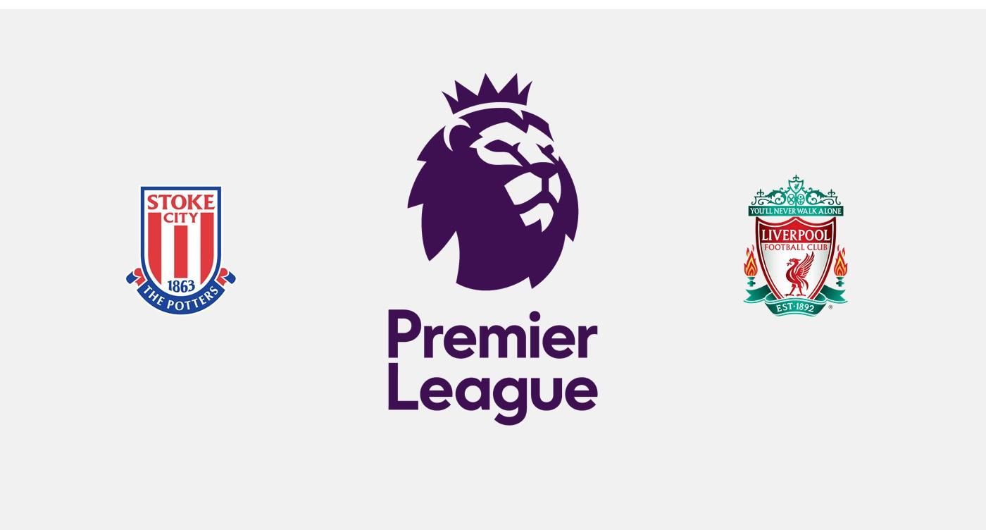 Stoke City v Liverpool Premier League
