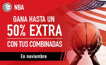 apuestas NBA noviembre sportium
