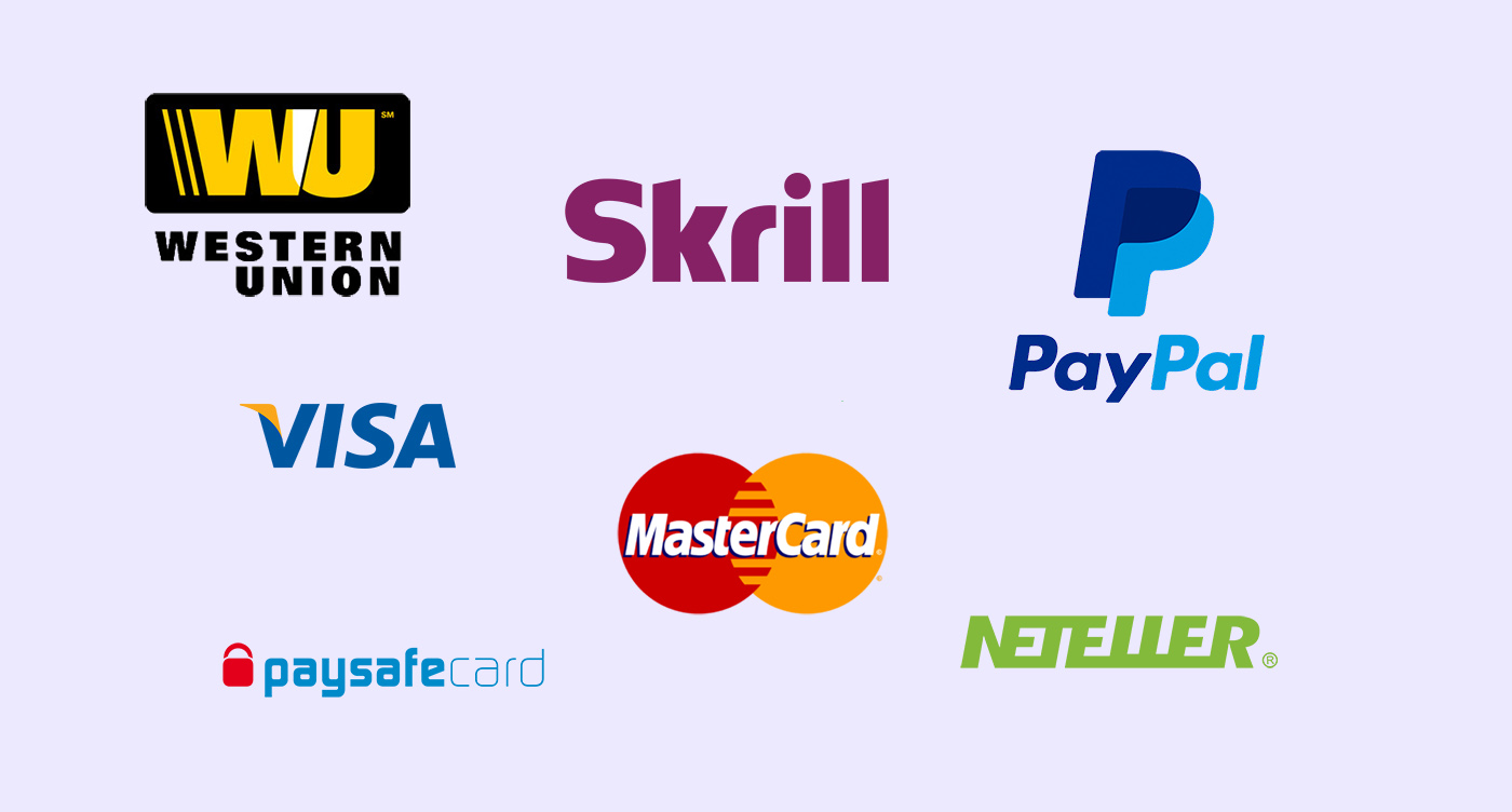 Métodos de pago casas de apuestas 2019