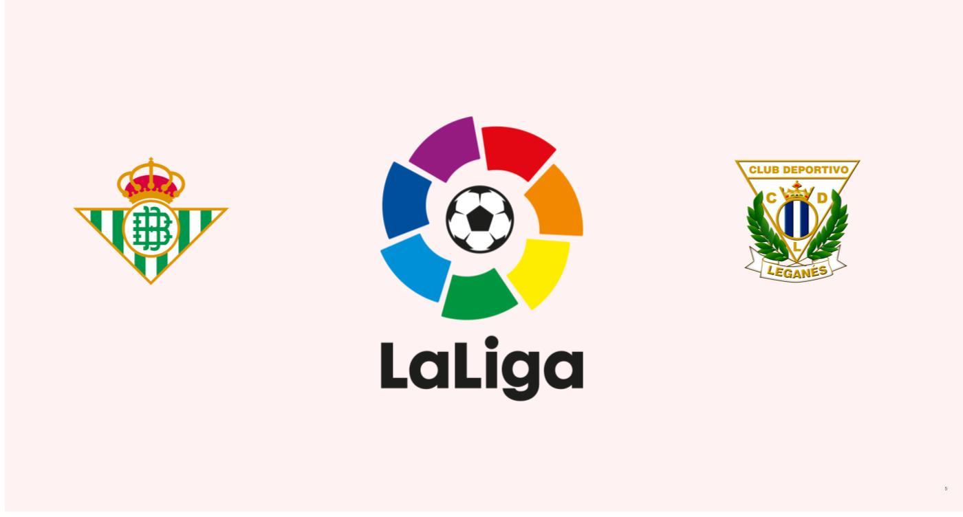 Betis v Leganés La Liga
