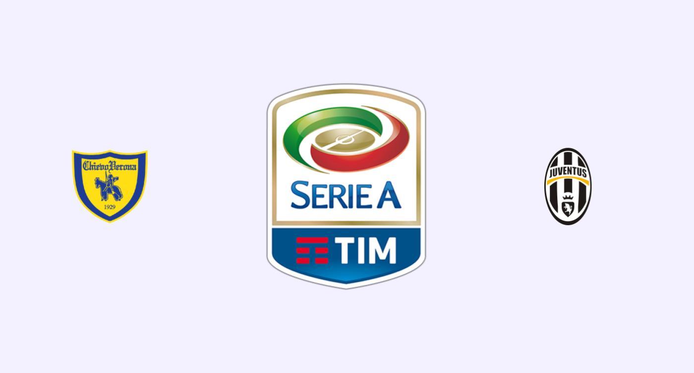 Chievo v Juventus Previa