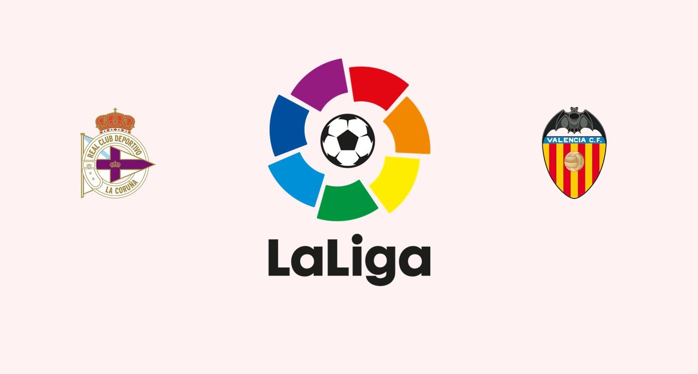 Deportivo La Coruña v Valencia La Liga
