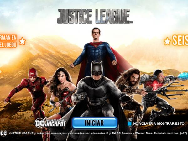 La Justice League llega a los casinos