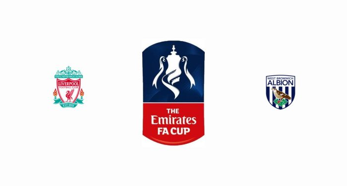 Liverpool v West Bromwich Albion Previa, Predicciones y Pronóstico