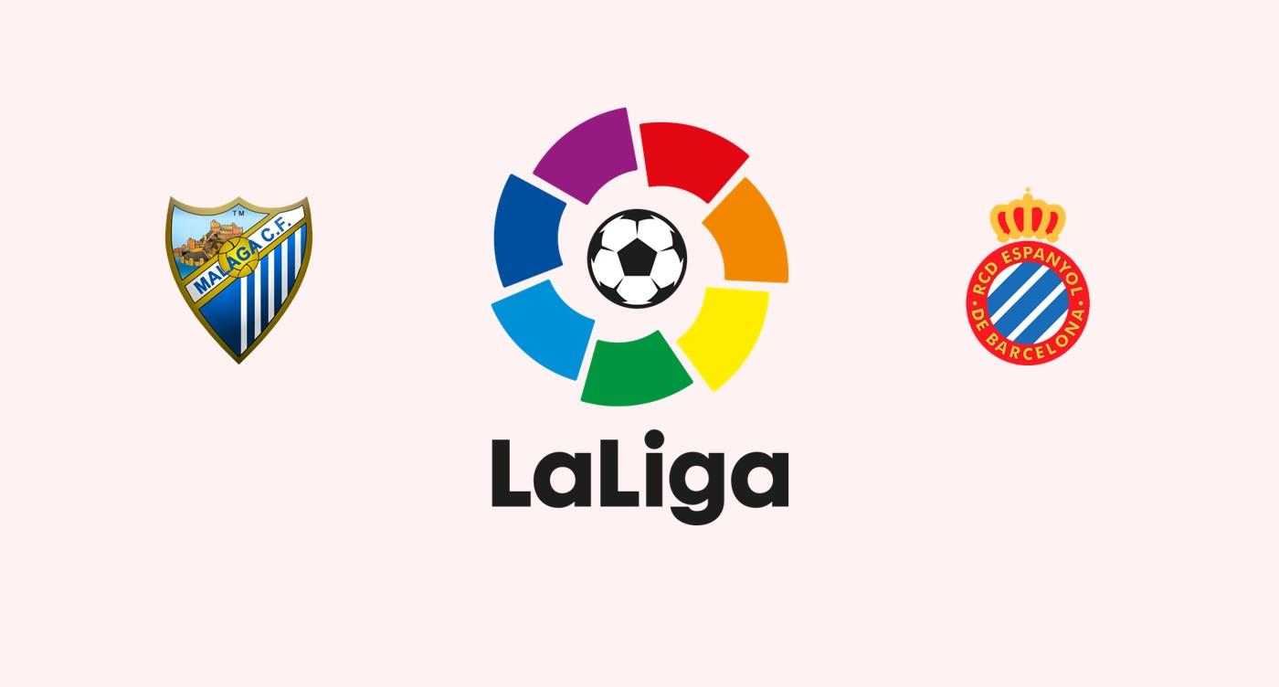 Málaga CF v RCD Espanyol La Liga