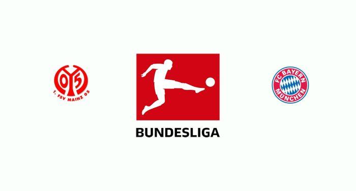 Mainz 05 v Bayern Múnich Previa, Predicciones y Pronóstico