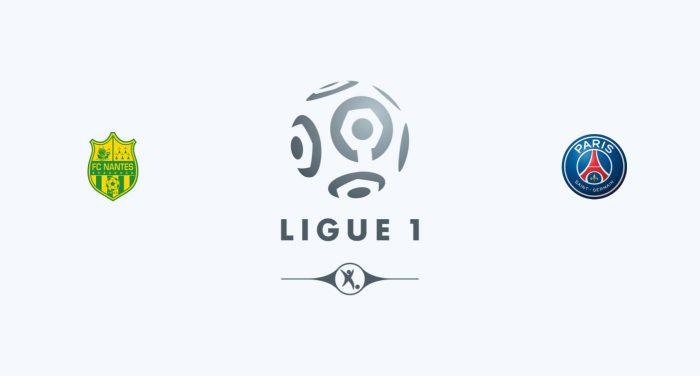 Nantes v PSG Previa, Predicciones y Pronóstico