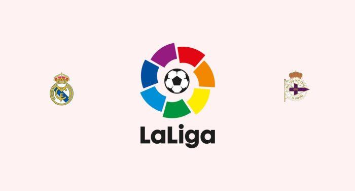 Real Madrid v Deportivo La Coruña Previa, Predicciones y Pronóstico
