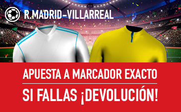 Real Madrid v Villarreal Sportium