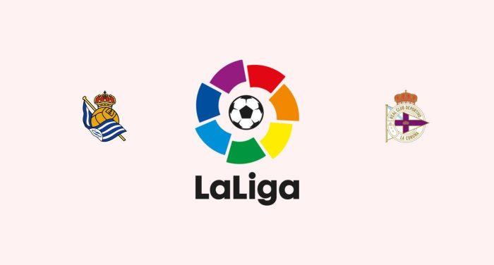 Real Sociedad v Deportivo Coruña Previa, Predicciones y Pronóstico
