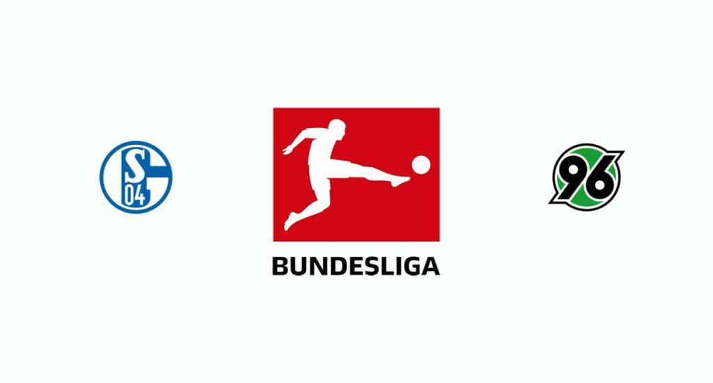 Schalke 04 v Hannover Previa, Predicciones y Pronóstico