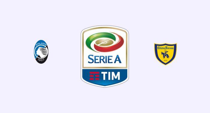 Atalanta v Chievo Previa, Predicciones y Pronóstico