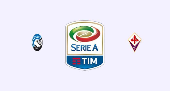 Atalanta v Fiorentina Previa, Predicciones y Pronóstico
