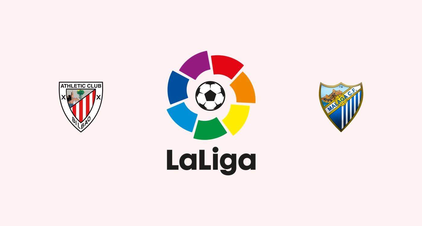 Athletic Club v Malaga CF