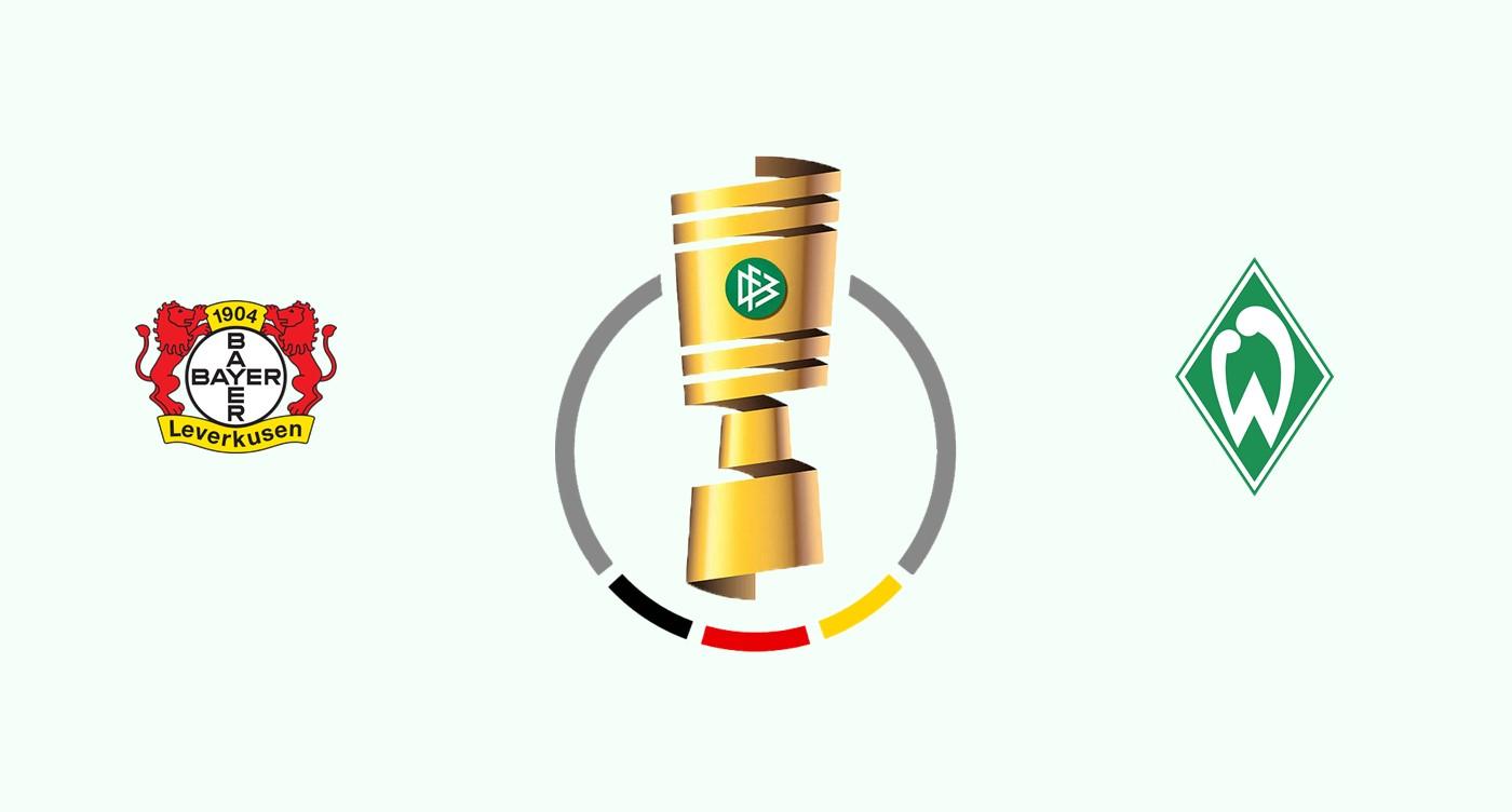 Bayer v Werder Bremen Pokal