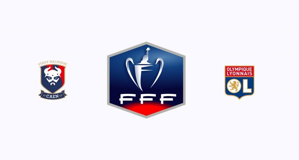 Caen v Olympique Lyon Previa, Predicciones y Pronóstico