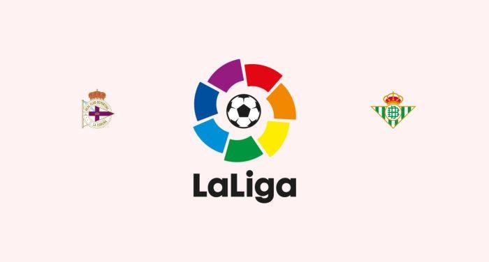 Deportivo de la Coruña v Betis Previa, Predicciones y Pronóstico