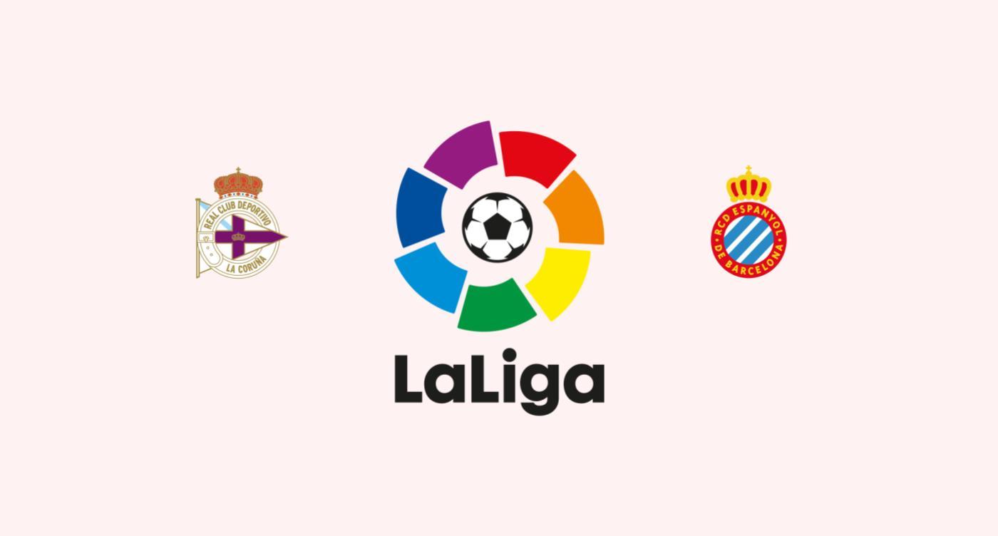 Deportivo la Coruña v Espanyol