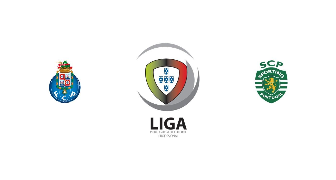 Oporto v Sporting Lisboa