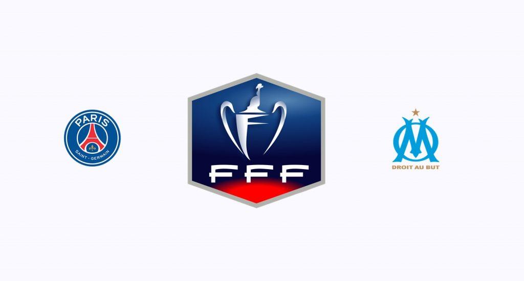 PSG v Olympique Marsella Previa, Predicciones y Pronóstico 28-02-2018