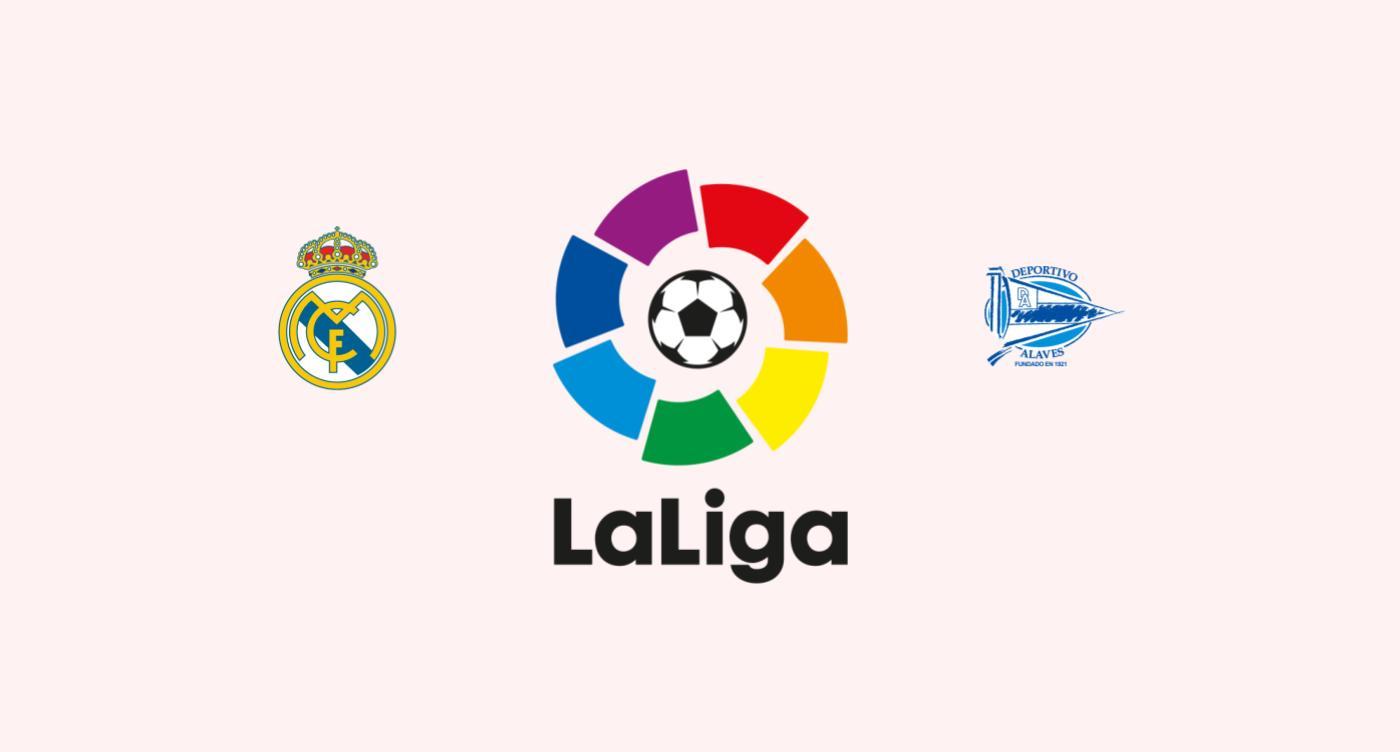 Real Madrid v Alavés