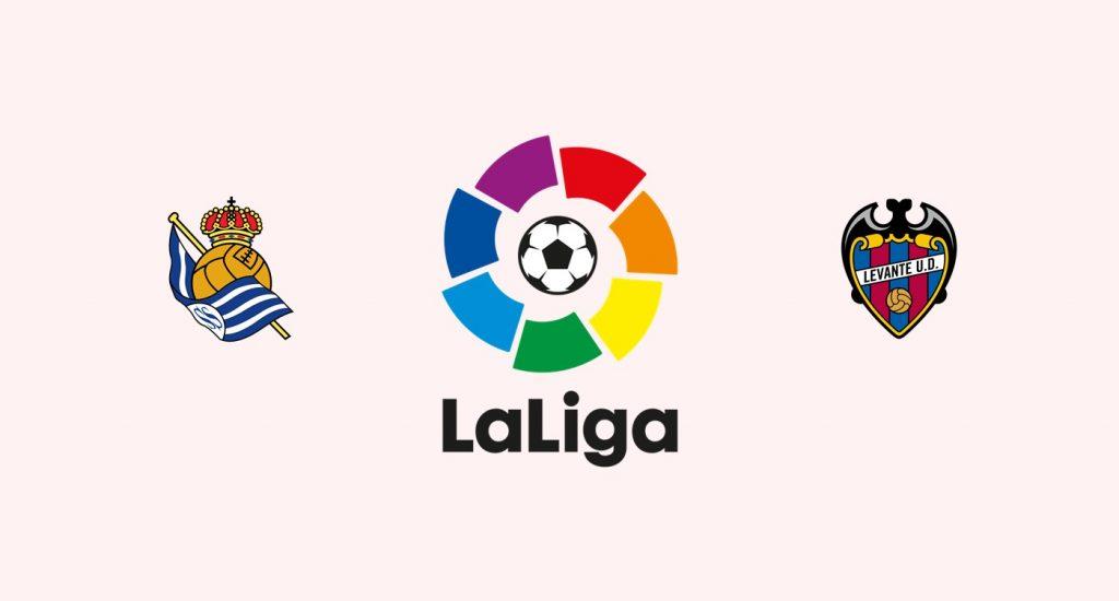 Real Sociedad v Levante Previa, Predicciones y Pronóstico 16-02-2018