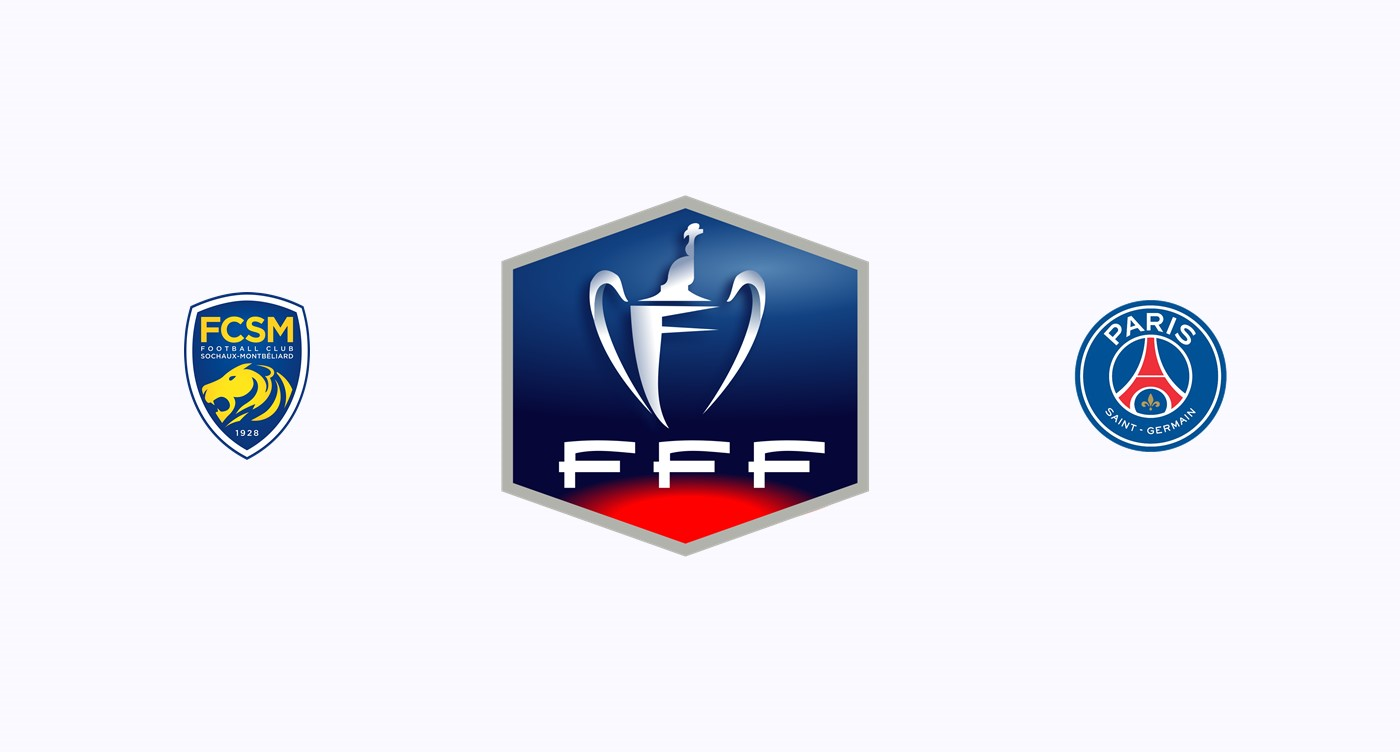 Sochaux v PSG Coupe