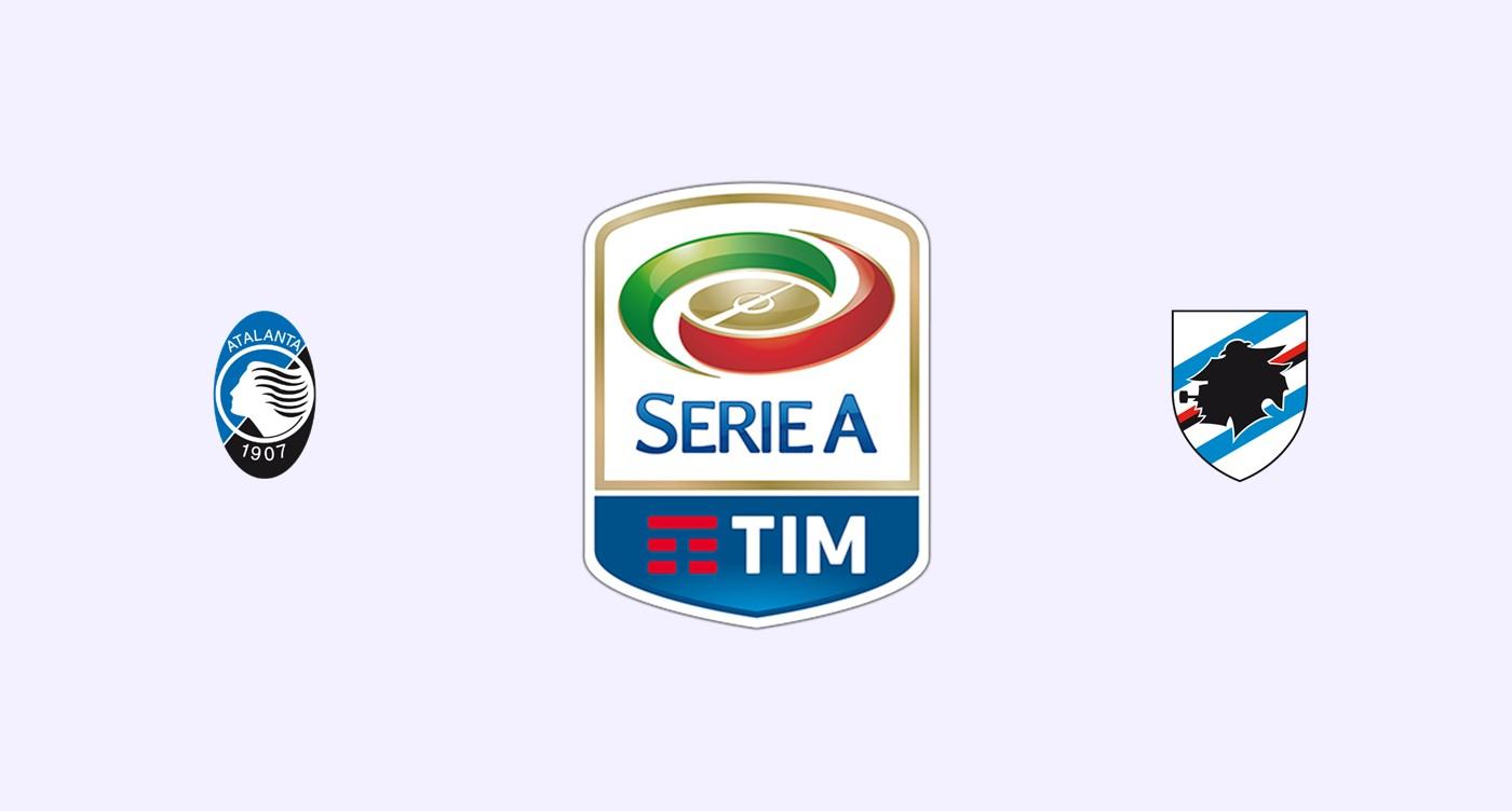 Atalanta v Sampdoria