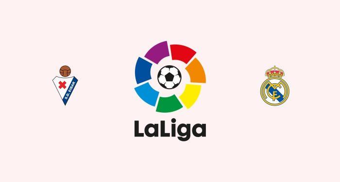 Eibar v Real Madrid Previa, Predicciones y Pronóstico 08-03-2018