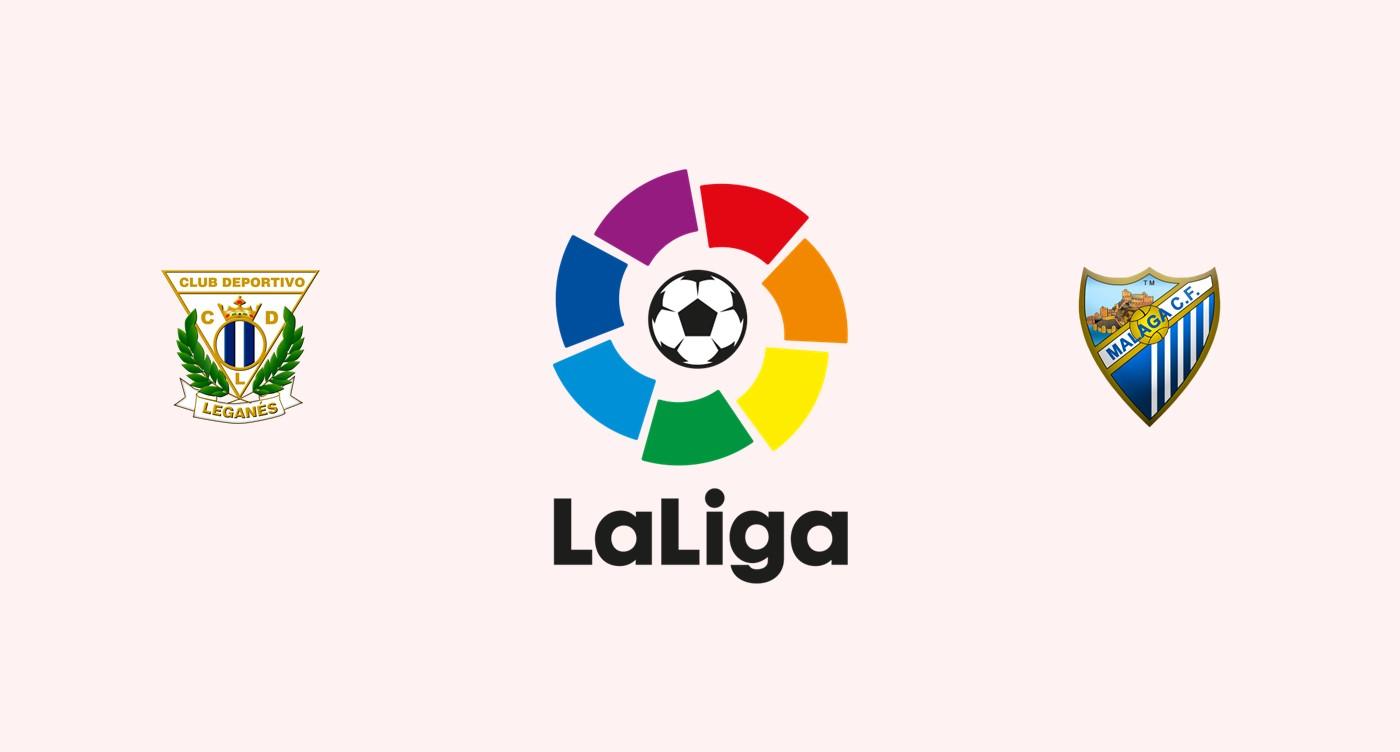 Leganés v Málaga