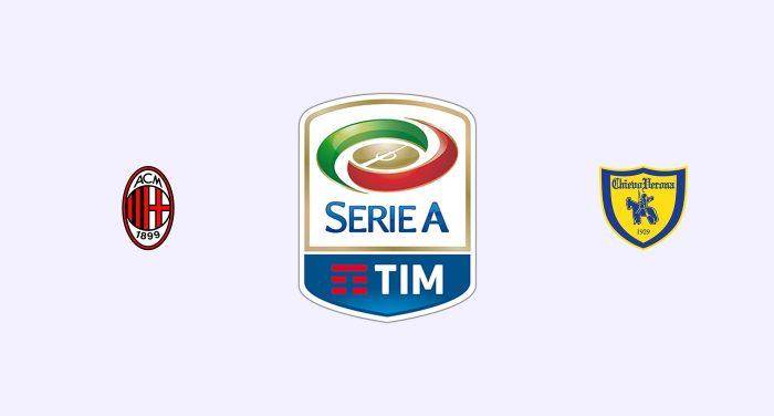 Milan v Chievo Previa, Predicciones y Pronóstico