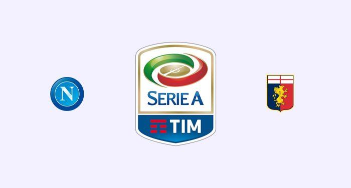Nápoles v Genoa Previa, Predicciones y Pronóstico 15-03-2018