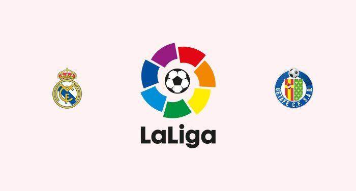 Real Madrid v Getafe Previa, Predicciones y Pronóstico 01-03-2018