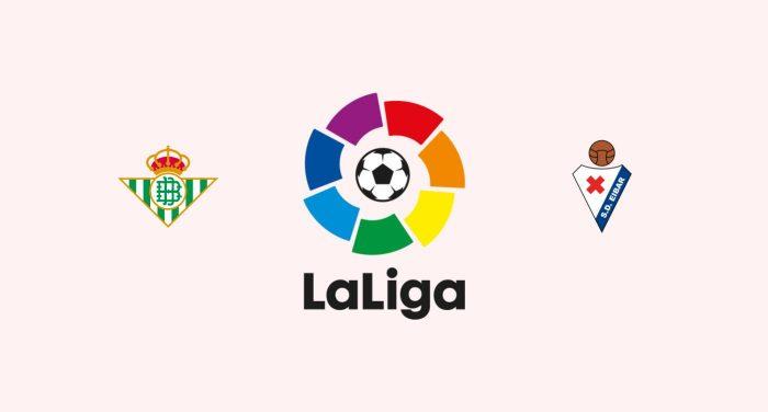 Betis v Eibar Previa, Predicciones y Pronóstico 05-04-2018