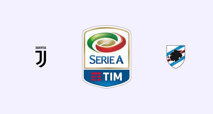 Juventus v Sampdoria Previa, Predicciones y Pronóstico