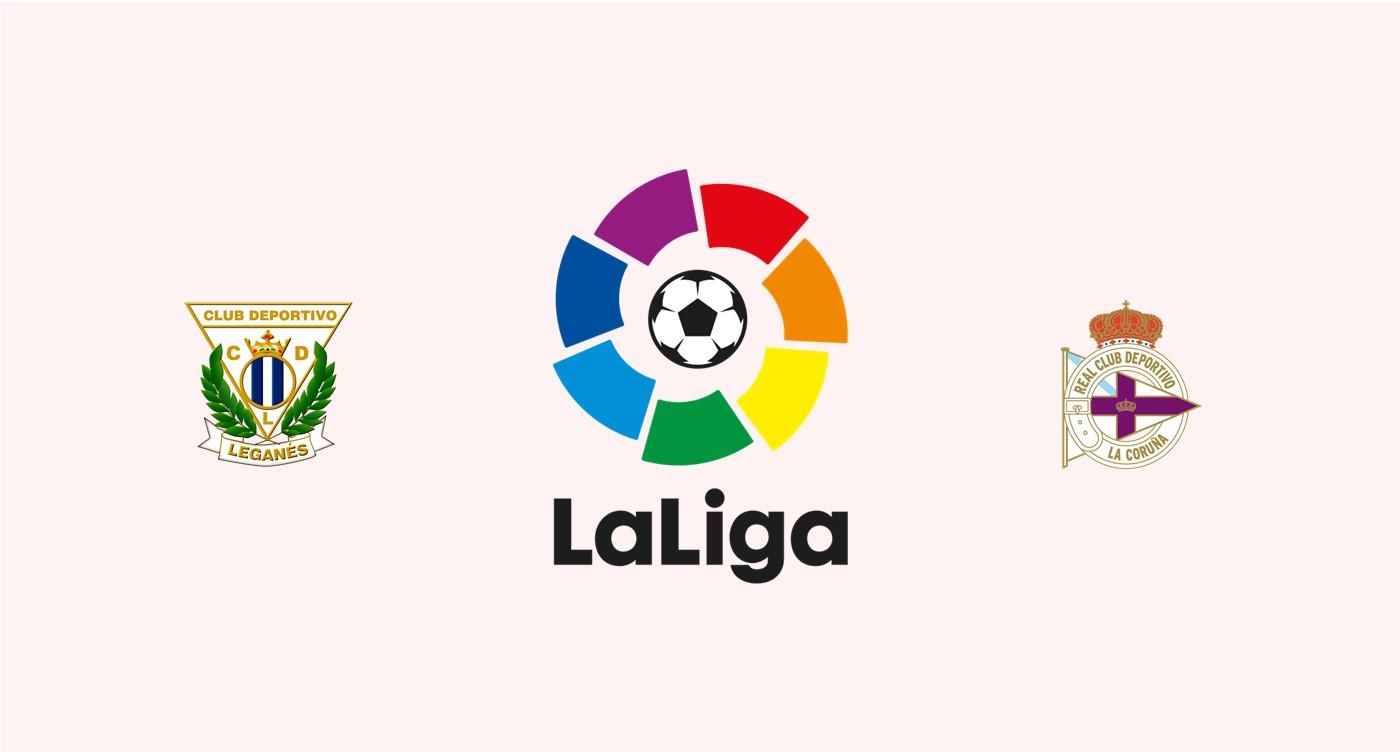 Leganés v Deportivo La Coruña
