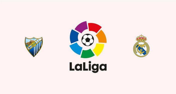 Málaga v Real Madrid Previa, Predicciones y Pronóstico