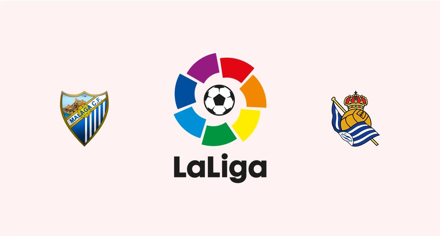 Málaga CF v Real Sociedad