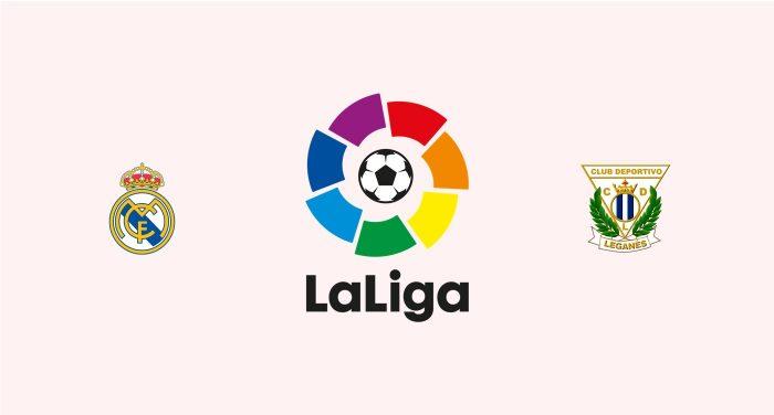 Real Madrid v Leganés Previa, Predicciones y Pronóstico 29-08-2018